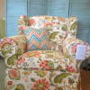 Thumbnail image for SOLD Slipcovered Wing Chair