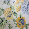 Thumbnail image for Wylene Floral Print Fabric Blue and Yellow – Sale
