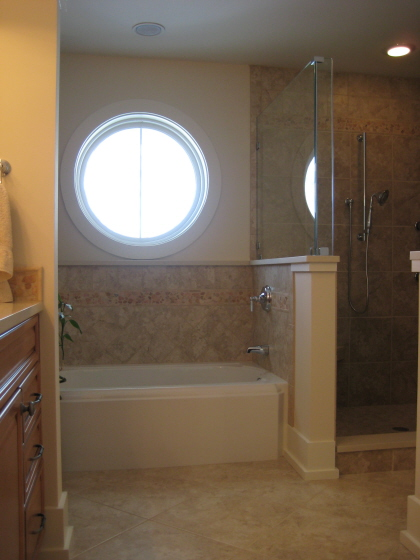 Custom Master Bath Installation