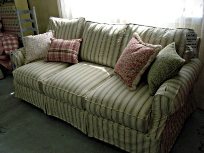 Custom Slipcovered Lido Sofa