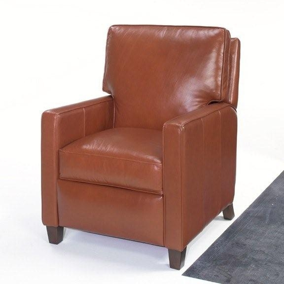 small leather recliner. Black Bedroom Furniture Sets. Home Design Ideas