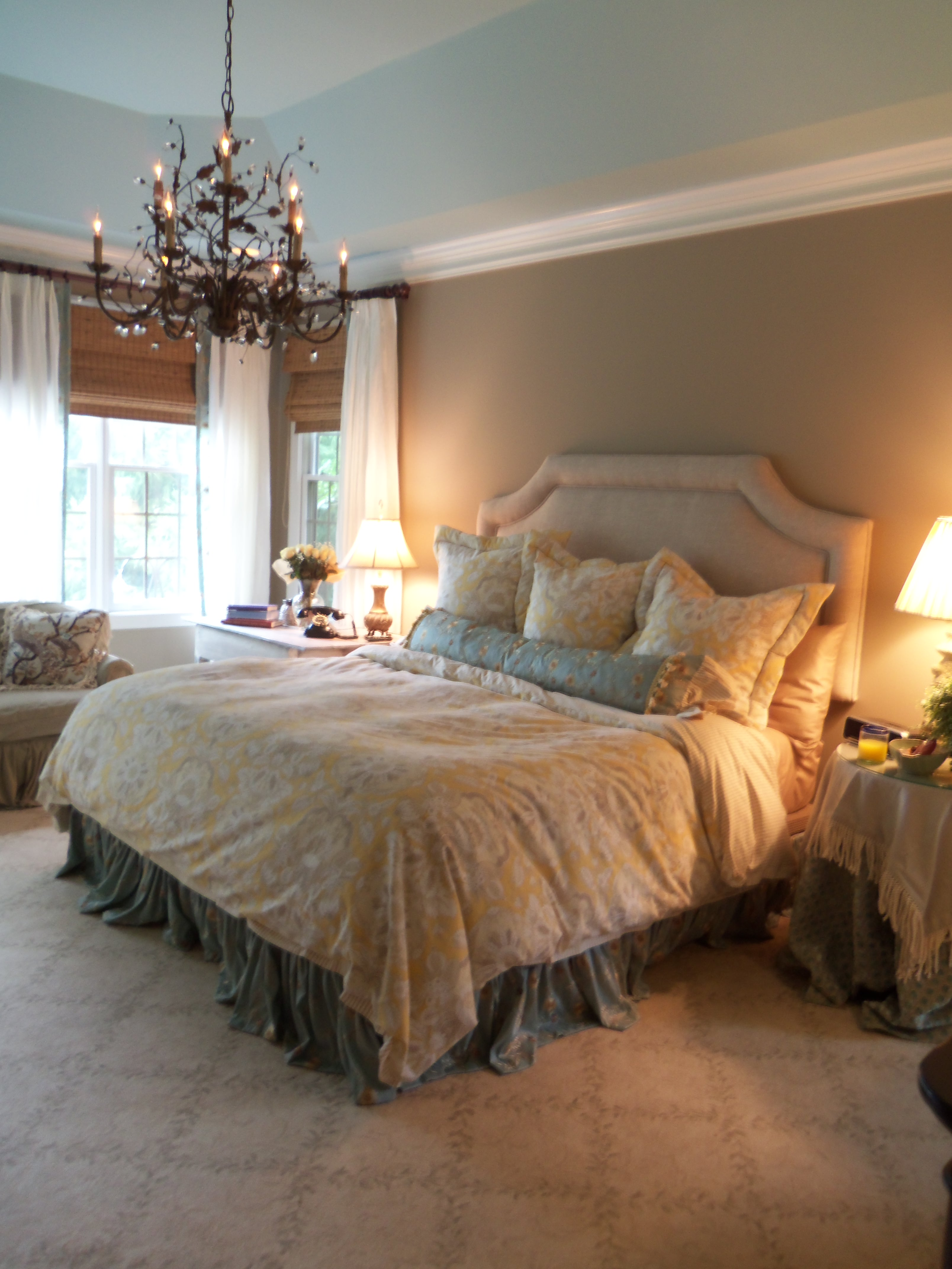 French Shabby Chic Master Bedroom Makeover