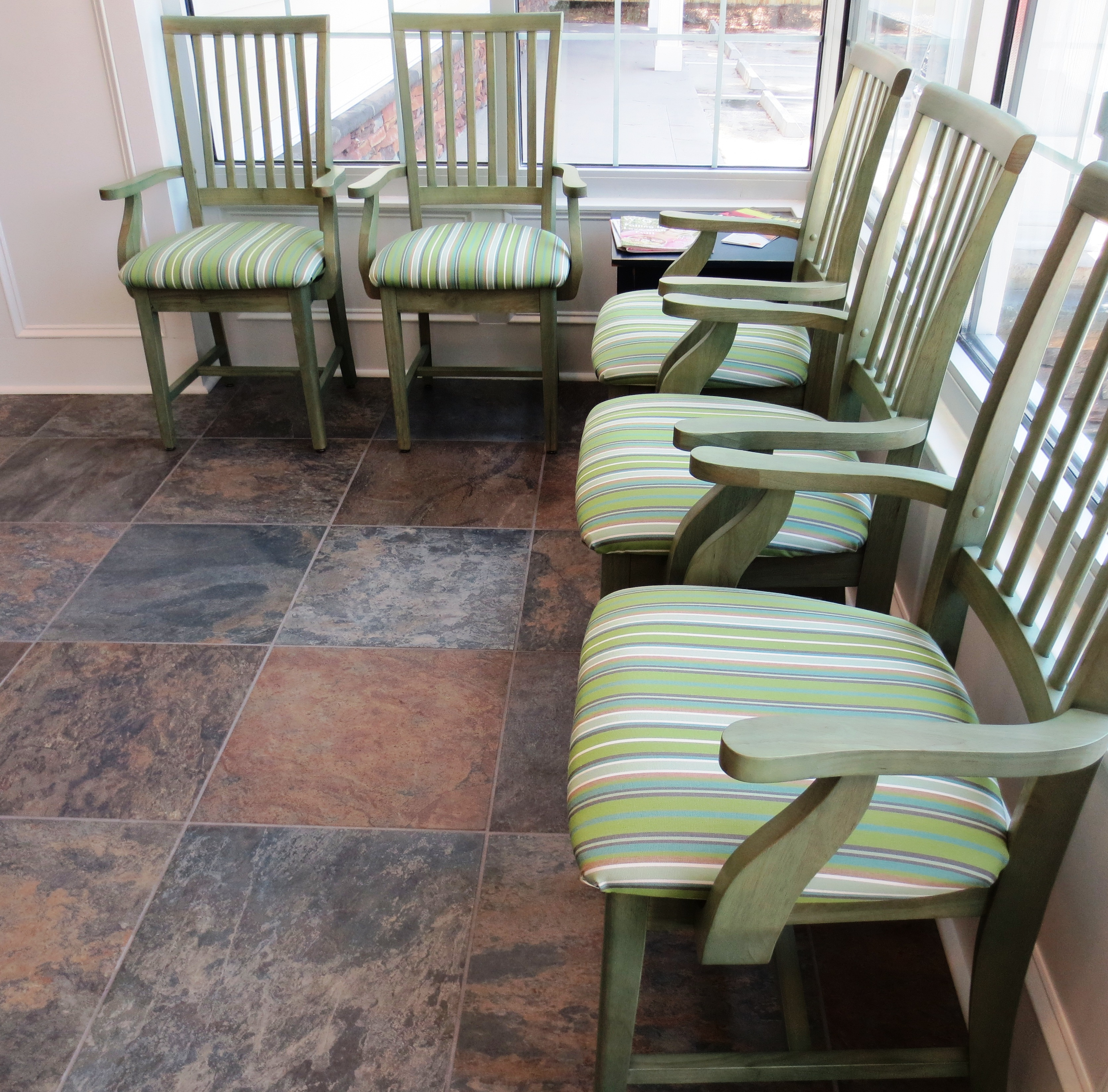designing an eco-friendly medical office waiting room