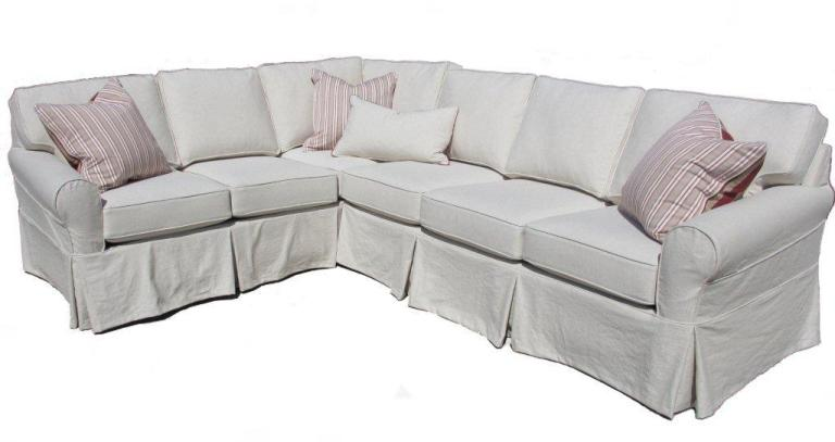 Slipcover Sectional Sofa New Slipcover Sectional Sofa With
