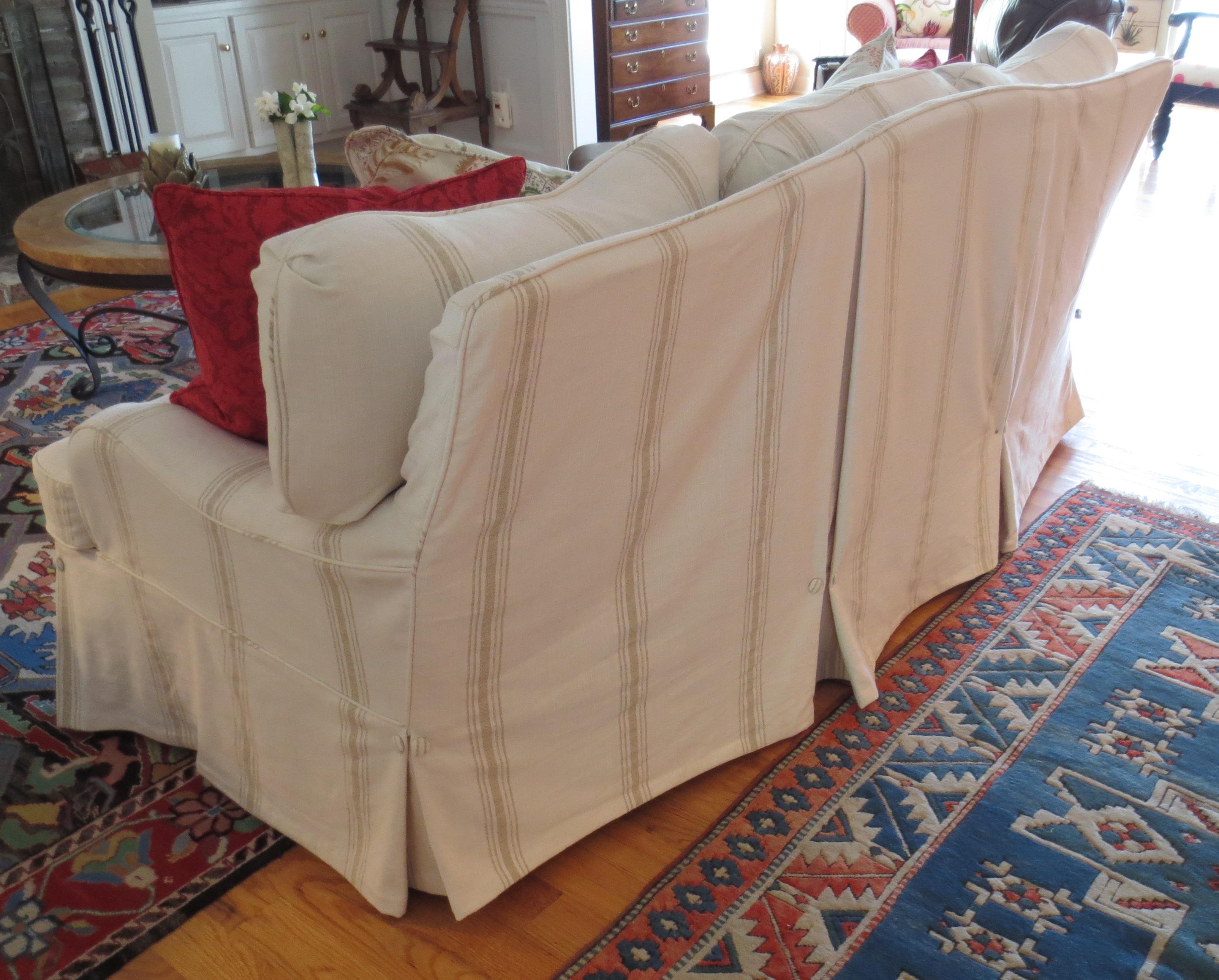 Astounding Slipcovered Sofa Back Detail Ibusinesslaw Wood Chair Design Ideas Ibusinesslaworg